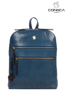 Conkca Francisca Leather Backpack