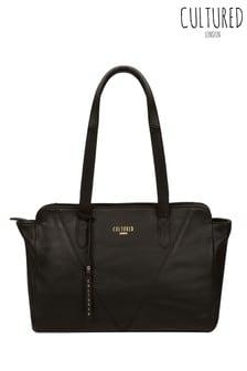 Cultured London Astoria Leather Handbag