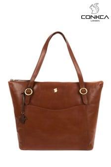 Conkca Mondo Leather Tote Bag