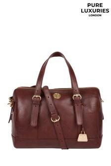 Pure Luxuries London Iris Leather Handbag