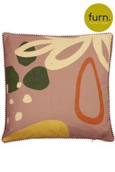 Furn Pink Blume Cushion