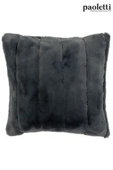 Riva Paoletti Grey Empress Cushion