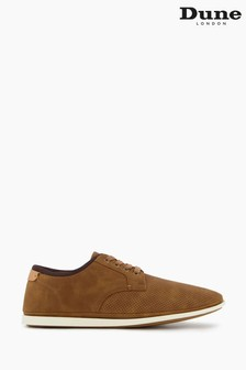 Dune London Brown Brow Lace-Up Trainers