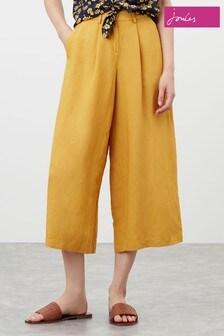 Joules Yellow Carlotta Culottes