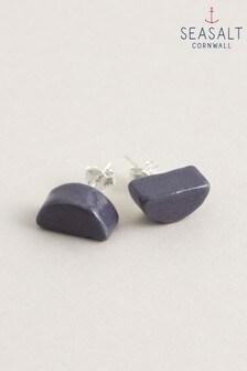 Seasalt Cornwall Purple Natural Motif Earrings