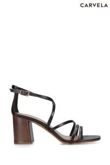 Carvela Brown Keel Sandals