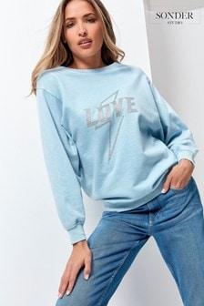 Sonder Studio Love Glitter Sweatshirt