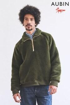 Aubin Ambleshire Wool Blend Borg 1/4 Zip