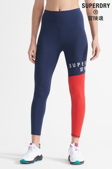 Superdry Sport Training Graphic 7/8 Leggings