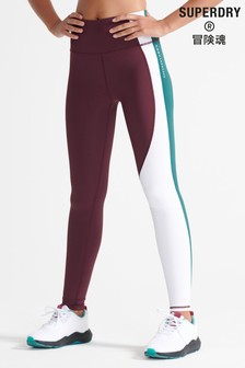 Superdry Sport Training Asymmetric Leggings
