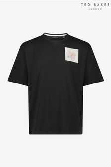 Ted Baker Nofan Embroidered Logo T-Shirt
