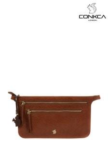 Conkca Planar Leather Bum Bag