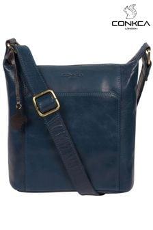 Conkca Yasmin Leather Cross Body Bag