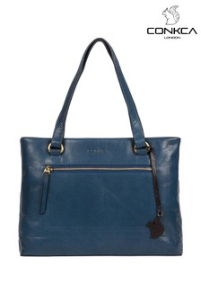 Conkca Alice Leather Handbag