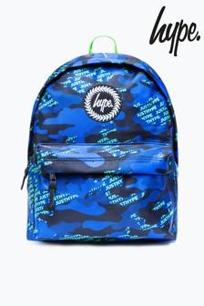 Hype. Neon Logo Camo Backpack