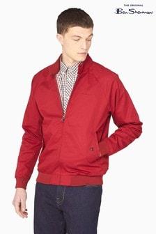 Ben Sherman Red Signature Harrington Jacket