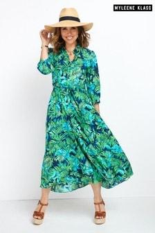 Myleene Klass Midi Shirt Dress