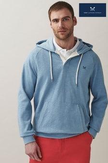 Crew Clothing Company Blue Hoody