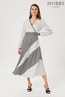 Hobbs White Imogen Dress