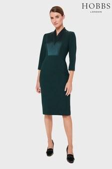 Hobbs Green Alisa Dress