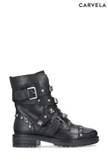 Carvela Black Sander Boots