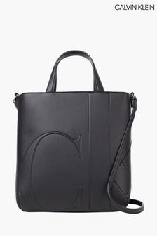 Calvin Klein Black Mini Shopper Bag