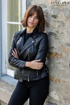 Lakeland Leather Toni Leather Biker Jacket