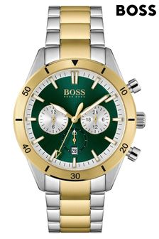 BOSS Santiago Silver Stainless Steel Watch