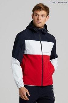 Tommy Hilfiger Blue Tech Hooded Jacket