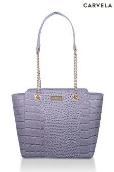 Carvela Blue Mini Deedee Bag