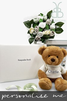 Babyblooms Personalised Baby Blessings Keepsake Christening Gift