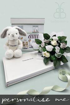 Babyblooms Personalised Bunny Baby Blessings Keepsake Christening Gift