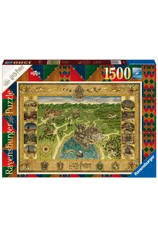 Ravensburger Harry Potter Hogwarts Map Jigsaw Puzzle 1500pc