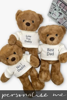 Babyblooms Father's Day Personalised Teddy Bear Gift