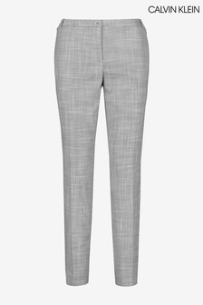 Calvin Klein Grey Slim Leg Trousers