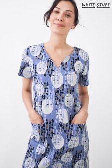 White Stuff Denim Jenna Fairtrade Jersey Dress