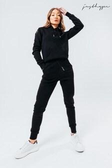 Hype. Black Scribble Logo Hoodie & Joggers Set