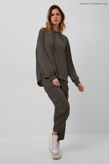 French Connection Green Renya Modal Jersey Joggers