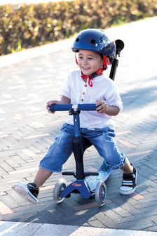 Micro Scooter Blue 3-In-1 Push Along Scooter 1-5 Years