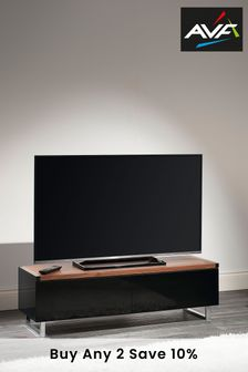 Panorama 1.2m Walnut TV Stand By AVF