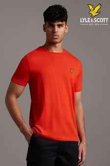 Lyle & Scott Burnt Orange Plain T-Shirt