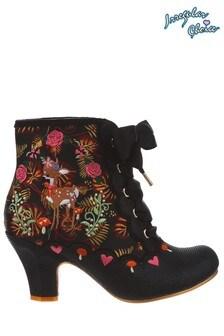 Irregular Choice Black Forest Frolics Boots