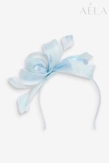 Aela Pastel Blue Floral Fascinator