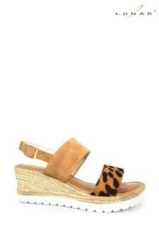 Lunar Marvel Leopard Sandals