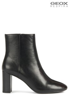 Geox Black D Pheby Boots