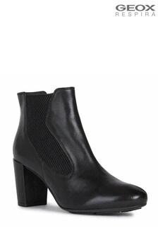 Geox Black D Loisia A Boots