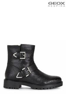 Geox Black D Hoara A Boots
