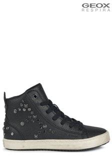 Geox Black J Kalispera Shoes