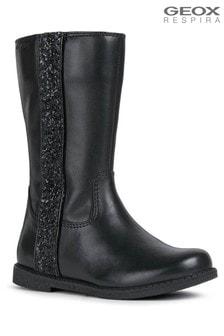 Geox Black J Shawntel Boots