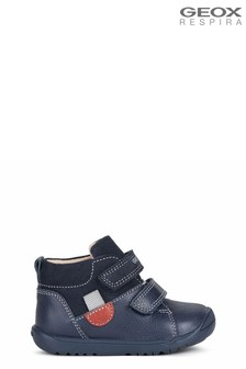 Geox Blue  B Macchia Boy A Shoes